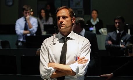 Actor Mark Strong is featured as a government official in the film.