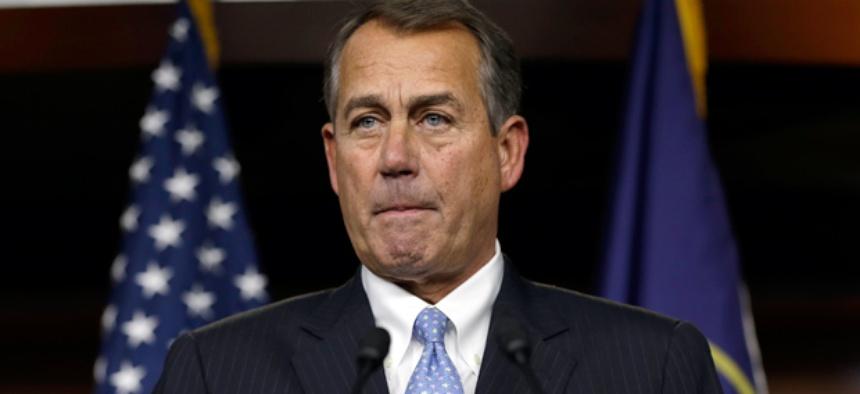 Speaker of the House John Boehner, R-Ohio.