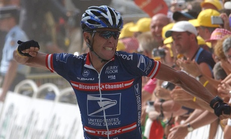 Lance Armstrong won his sixth Tour de France title in 2004.