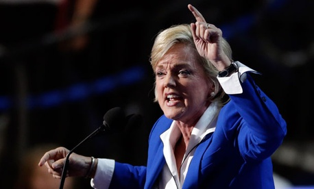 Jennifer Granholm was a speaker at the Democratic National Convention in September.
