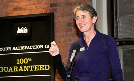 REI president and CEO Sally Jewell