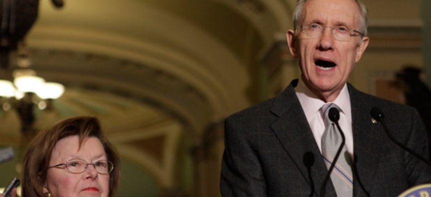 Sen. Majority Leader Harry Reid, D-Nev., and Sen. Barbara Mikulski, D-Md., are among those who assembled the package.