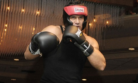 In 2009, Jose Canseco tried his hand at celebrity boxing.