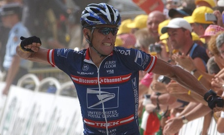 Lance Armstrong won the 2004 Tour de France under the sponsorship of the United States Postal Service.