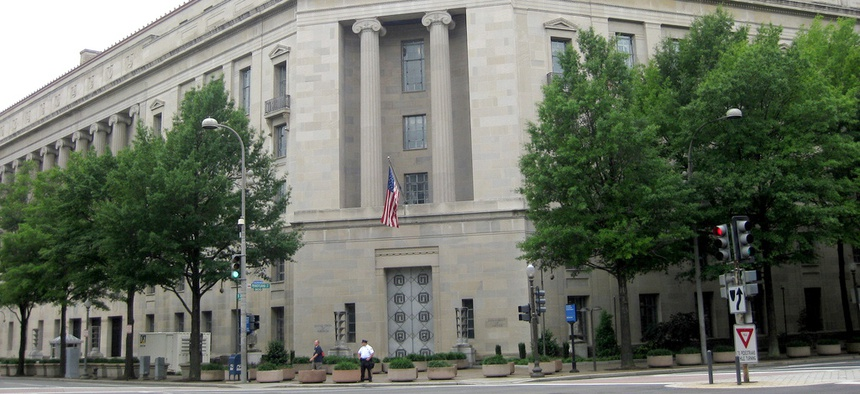 The Justice Department  already has issued formal furlough notices to individual employees.