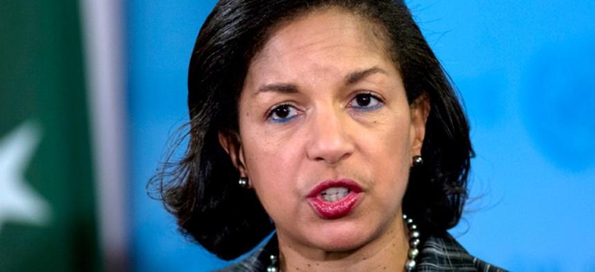 U.S. Ambassador to the United Nations Susan Rice
