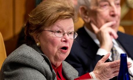 Sen. Barbara Mikulski, D-Md.