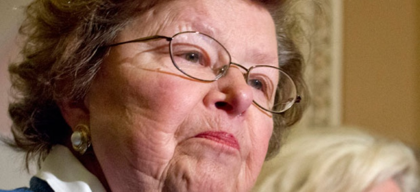 """Sequester needs a balanced solution and we will be listening and awaiting their ideas,"" Sen. Barbara Mikulski, D-Md. , said."