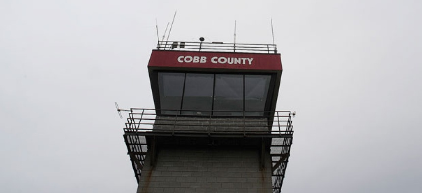 Air traffic controllers will be among those furloughed.