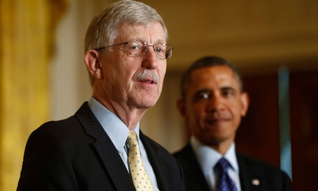 Dr. Francis Collins spoke at the White House today about the initiative.