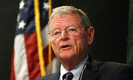 "Sens. Jim Inhofe, R-Okla., above, and Kay Hagan, D-N.C., asked Defense Secretary Chuck Hagel why the department has ""not yet taken action to restore tuition assistance for service members."""