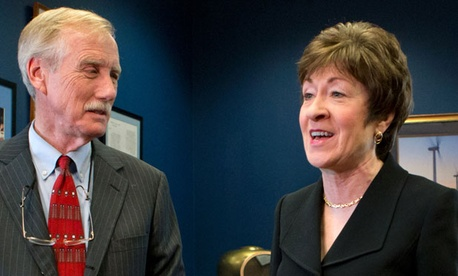 Maine Sens. Susan Collins and Angus King are questioning the department's approach to spread furloughs evenly among affected employees to maintain fairness and possibly to avoid legal action.