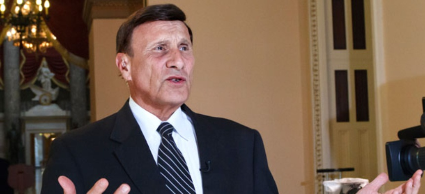 """I'm continuing again to try to highlight public assets that sit idle or are undertilized,"" said Rep. John Mica, R-Fla."
