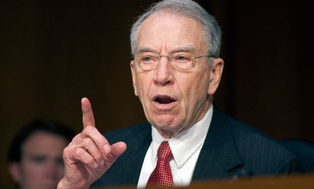 Sen. Charles Grassley, R-Iowa, accused the Justice Department of delays in releasing documents concerning Perez's 2011 intervention in a Minnesota discrimination case.