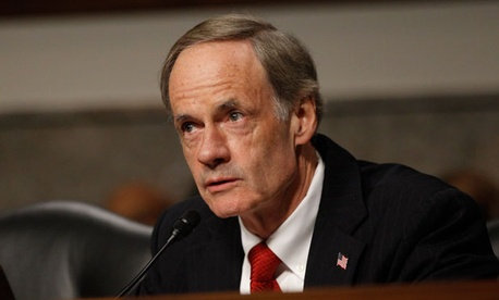 """Federal agencies made an estimated $108 billion in improper payments for fiscal year 2012, a small reduction from previous years,"" noted Sen. Tom Carper, D-Del."
