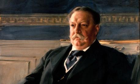 President William Howard Taft was the heaviest president.