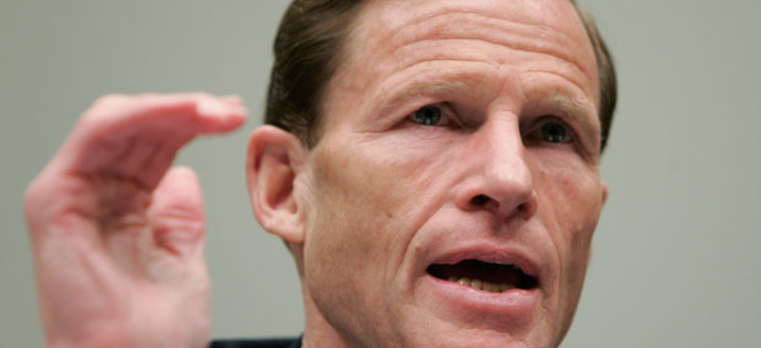 """""""I'm writing OMB to remind the agency that there are human costs to delay,"""" Sen. Richard Blumenthal, D-Conn., said in his letter."""