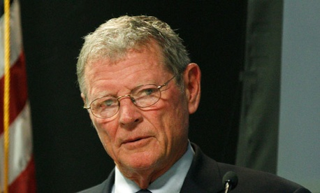 Jim Inhofe, R-Okla., is rejecting comparisons to the disaster funding legislation in the wake of Hurricane Sandy that he opposed.