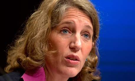 """Sylvia Burwell said she is working with the president to """"replace sequestration with a balanced deficit reduction plan."""""""