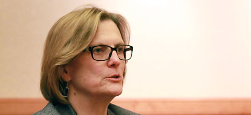 Acting Commerce Undersecretary Kathryn Sullivan told employees that department officials were able to obtain budget flexibility, allowing the agency to avoid furloughs for all 12,000 of its employees.