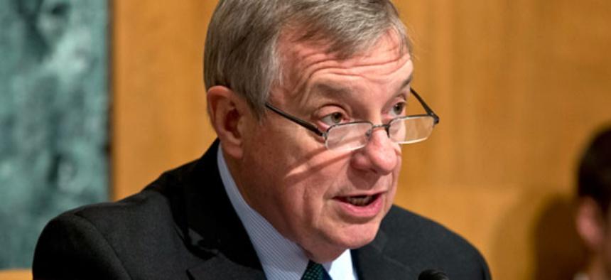 Senate Defense subcommittee Chairman Sen. Richard Durbin, D-Ill.