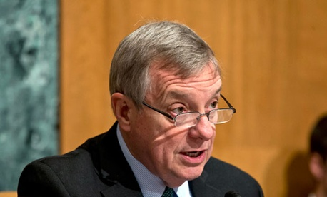 Senate Defense subcommittee Chairman Sen. Richard Durbin, D-Ill.