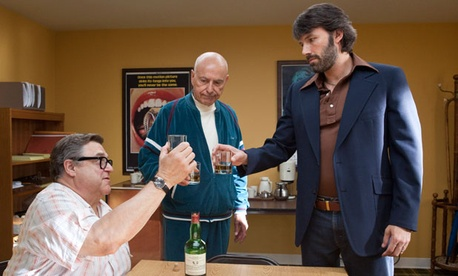 John Goodman, Alan Arkin, and  Ben Affleck starred in the 2012 film.
