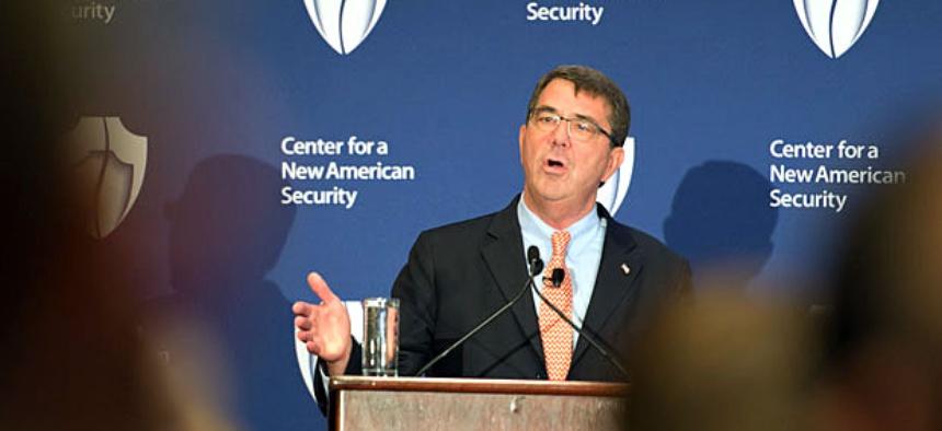 Deputy Secretary of Defense Ashton B. Carter