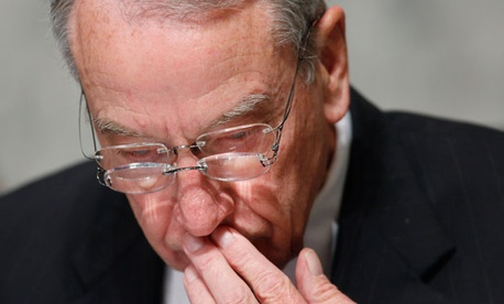 News about the bonuses came from the office of Sen. Chuck Grassley, R-Iowa, according to AP.
