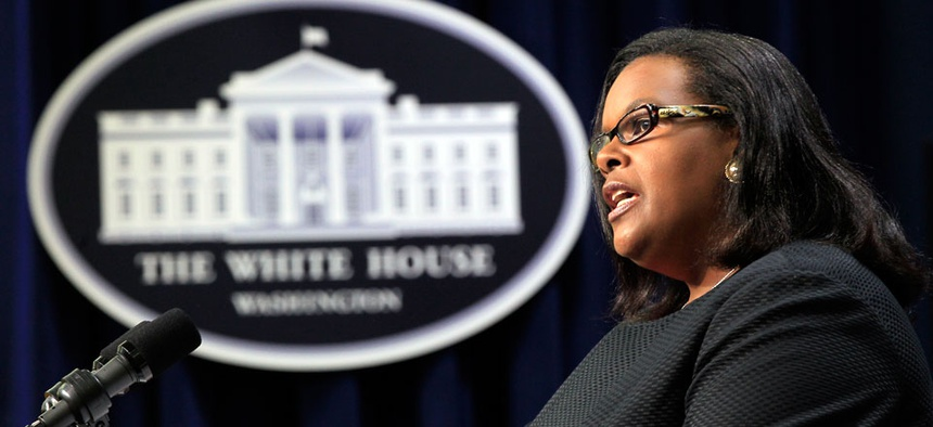 Chair of the Equal Employment Opportunity Commission Jacqueline Berrien