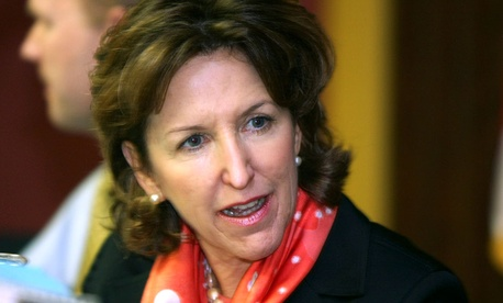 """I was disappointed to learn this pay increase will proceed,"" said Sen. Kay Hagan, D-N.C., during a press teleconference Tuesday."