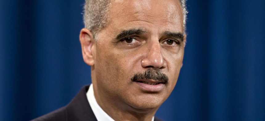 Attorney General Eric Holder, head of the Justice Department