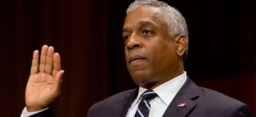 B. Todd Jones appeared before the Senate in June.