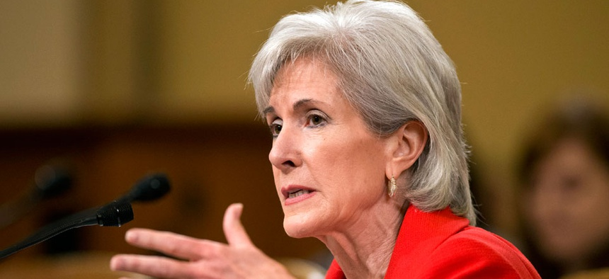 Health and Human Services Secretary Kathleen Sebelius