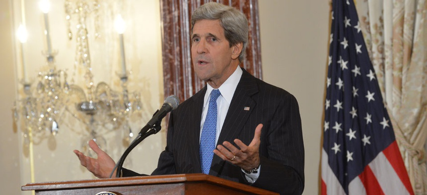 Secretary of State John Kerry fully reviewed the decisions.