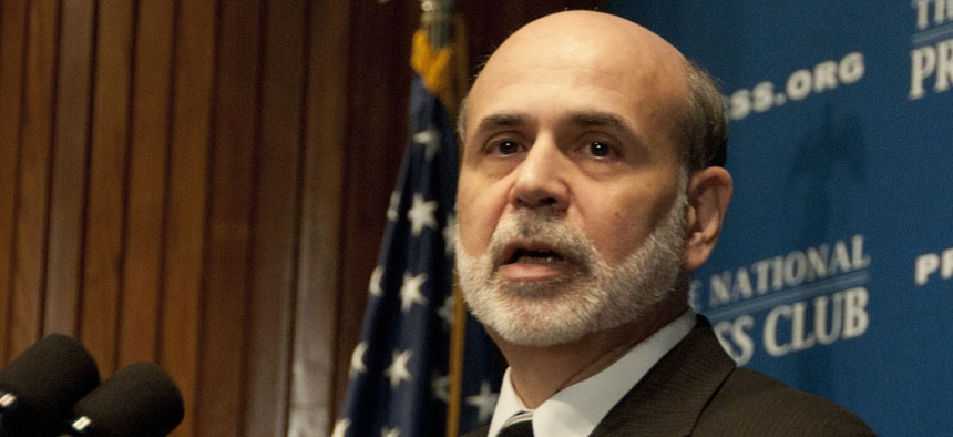 Federal Reserve Chairman Ben Bernanke arguably wields the nation's last policy lever in his central bank's monetary policy.