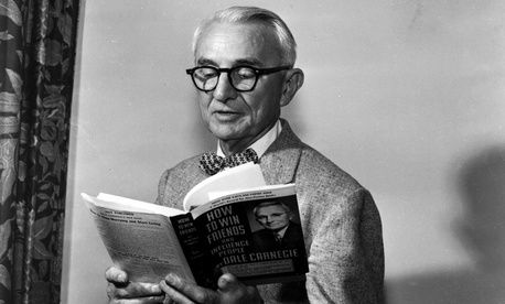 """Dale Carnegie, author of """"How to win Friends and Influence People""""."""
