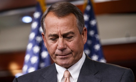 "There are a ""million options being discussed by a lot of people,"" House Speaker John Boehner, R-Ohio, said."