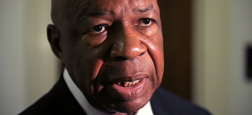 """Rep. Elijah Cummings, D-Md., says federal employees """"should not have to suffer"""" if Congress can't reach a deal to keep government open."""