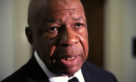 "Rep. Elijah Cummings, D-Md., says federal employees ""should not have to suffer"" if Congress can't reach a deal to keep government open."
