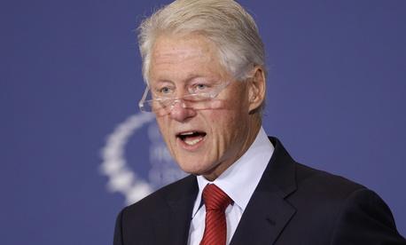 at the Clinton Pre, ... ]