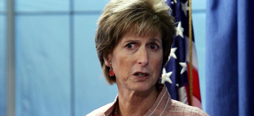 Former EPA Chief Christine Todd Whitman