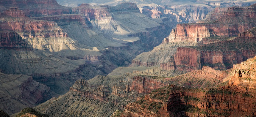 Grand Canyon National Park is among those opened with state funds.