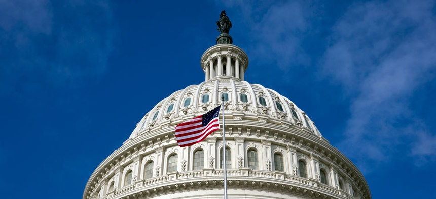 The Capitol is seen as a partial government shutdown enters its third week.