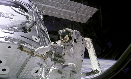 In the study, NASA had a 73 percent approval rating.