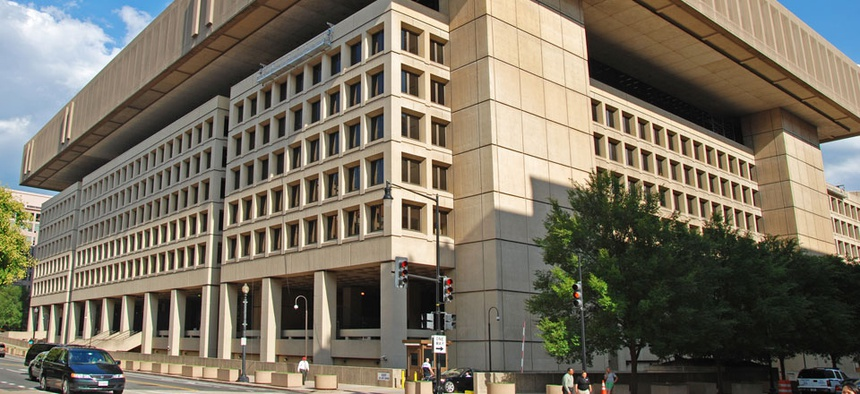 The FBI is looking to get out of the J. Edgar Hoover Building.