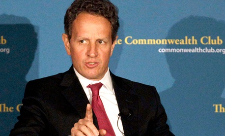 Former U.S. Treasury Secretary Tim Geithner