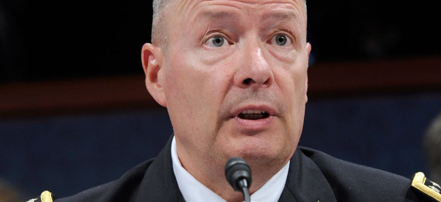 National Security Agency Director Gen. Keith Alexander