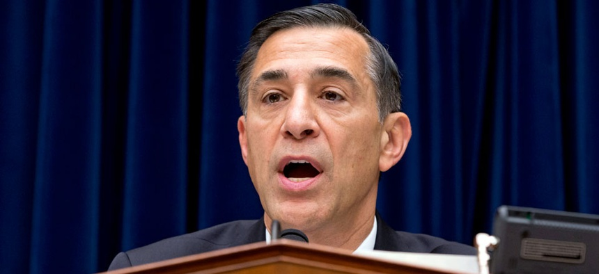 House Oversight Committee Chairman Rep. Darrell Issa, R-Calif.