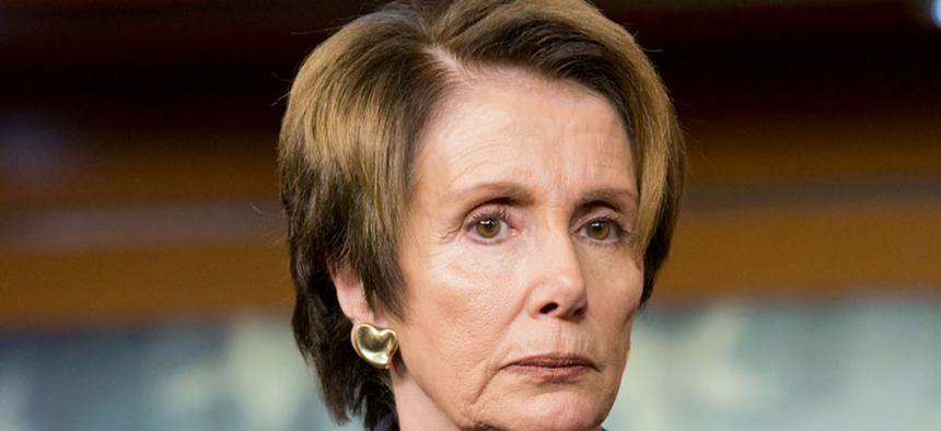"""""""I'd like [an unemployment insurance extension] in the budget; it's part of our budget proposal … or some sidebar initiative that would go along, timing-wise with it,"""" House Minority Leader Nancy Pelosi said Thursday."""